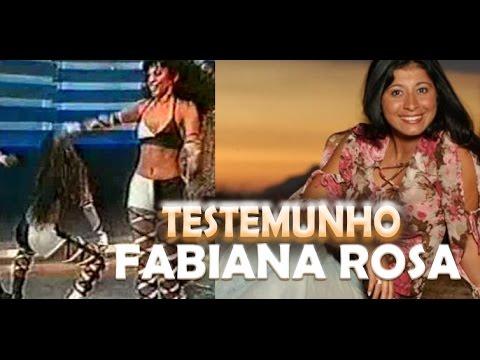 EX DANÇARINA DE FUNK VIRA EVANGÉLICA TESTEMUNHO MISS FABIANA ROSA