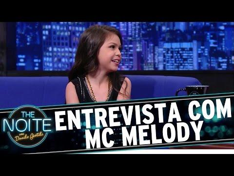 The Noite 25 12 15 - Entrevista com Melody