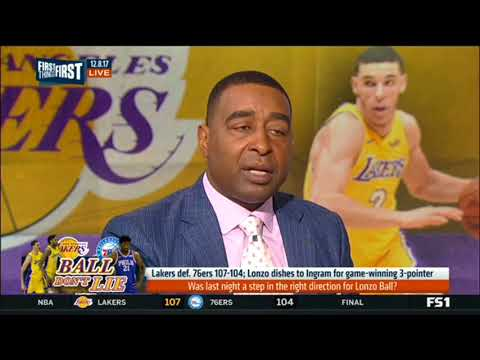 Lakers def 76ers-Was last night a step in the right direction for Lonzo Ball