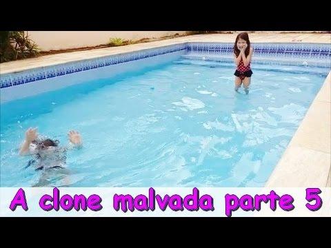 A CLONE MALVADA - TAINÁ SE AFOGA NA PISCINA - NOVELINHA PARTE 5