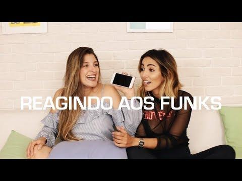 REAGINDO AOS FUNKS FT THAIS DAMASO - Jade Seba
