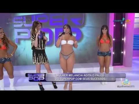 Mulher Melancia dançando de fio dental no SuperPop EM HD 0