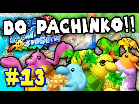 Super Mario Sunshine Part 13 - PACHINKO MACHINE