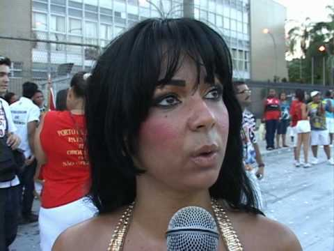 Mc Maysa tambem é abusada no samba