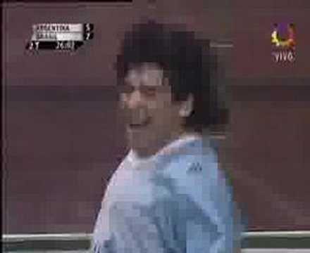 Maradona ShowBall Vs Brasil