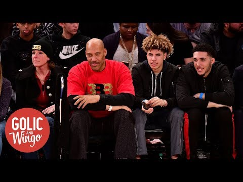 Charles Barkley on LaVar Ball 'I just don't like the guy at all' Golic and Wingo ESPN
