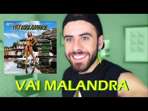 REAGINDO a VAI MALANDRA - Anitta
