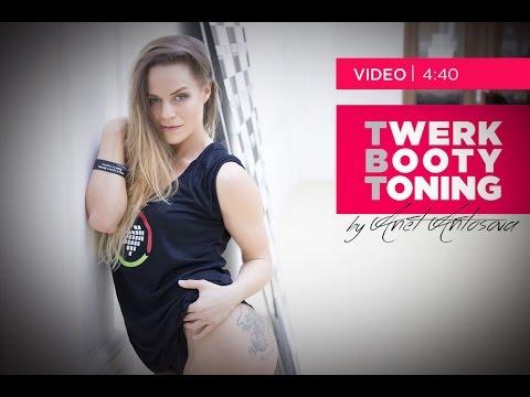 Anet Antošová - Twerk Booty Toning - 2 díl
