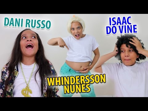 IMITANDO YOUTUBERS 2 - JULIANA BALTAR