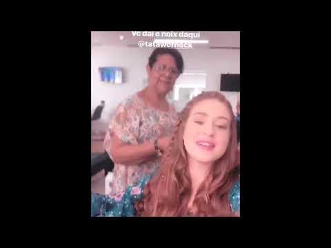 Bruna Marquezine disputa funk com Marina Ruy Barbosa