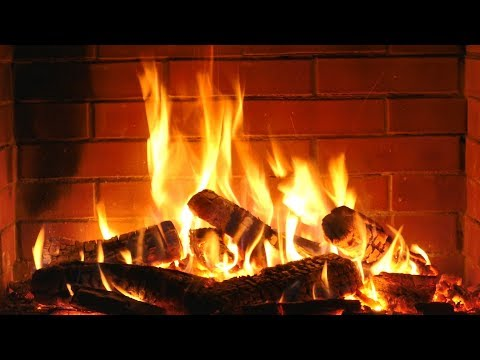 Fireplace HD with Christmas Music - Non Stop