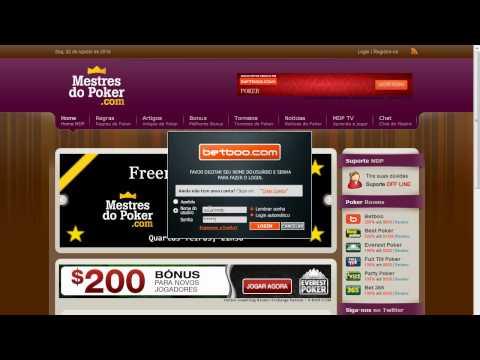 Freeroll Betboo - Mestres do Poker 100