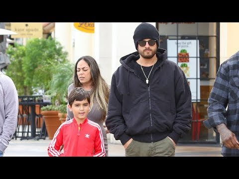 Scott Disick Bonds With Son Mason With A Trip To The Cinema
