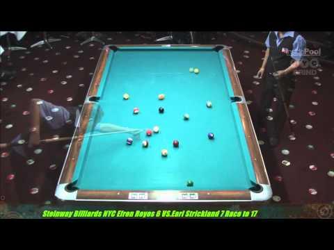 Strickland V Reyes Super Show 8-Ball Steinway Billiards NYC