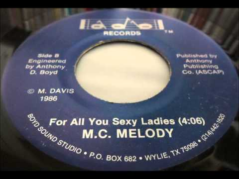 M C Melody - For All You Sexy Ladies Adb 7Inch 1986