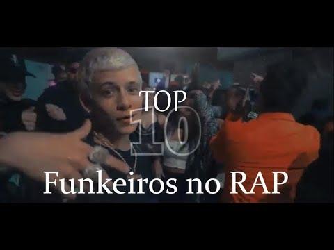 Top 10 - Funkeiros no RAP Kondzilla - GR6 EXPLODE - DETONA FUNK e LEGENDA FUNK