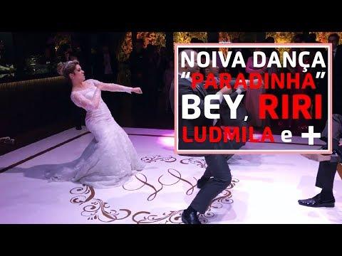 Noiva dança Paradinha da Anitta Beyoncé Rihanna Ludmila e MC Kevinho - Livia e Leonardo