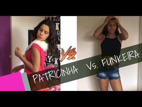 PATRICINHA VS FUNKEIRA - GABRIELLA SARAIVAH