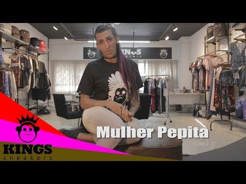 Mulher Pepita funkeira militante batendo um papo com a galera da Kings
