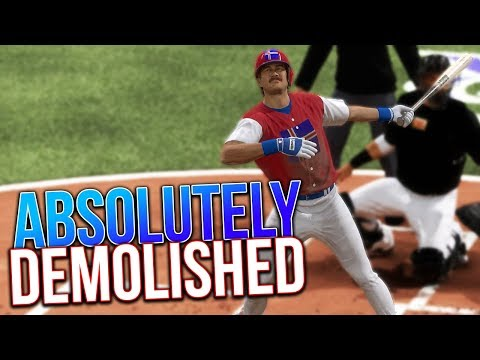 He Absolutely Crushed This Ball MLB The Show 17 Battle Royale
