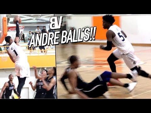 Its The ANDRE BALL SHOW At Chino Hills NASTY Reverse Will Pluma DAGGER 3