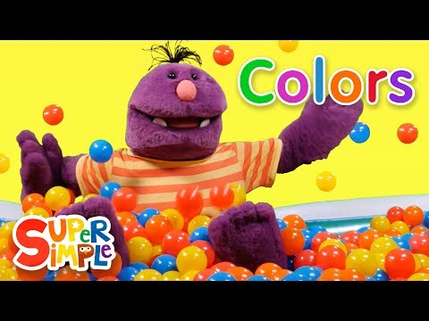 Super Duper Ball Pit Learn About Colors Blue Yellow & Red