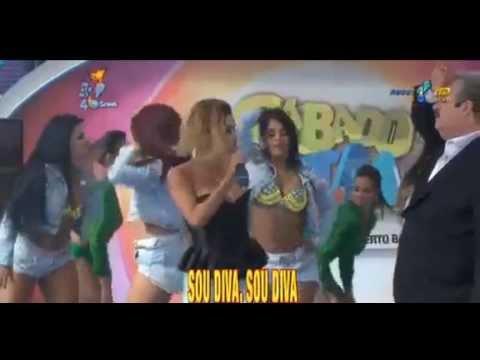 MC SABRINA - SABADO TOTAL REDETV - SOU DIVA