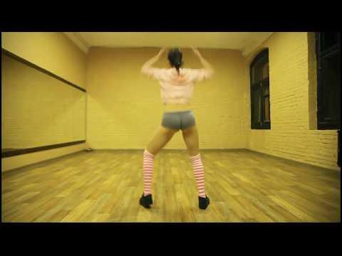 Twerk booty dance Yana Medvedchuk