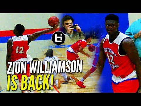 The Zion Williamson Show IS BACK and He s WEARING WHAT