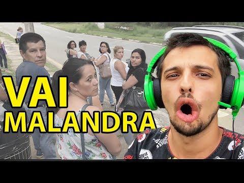 CANTANDO EM PUBLICO ANITTA VAI MALANDRA PEGADINHA DO TIRO - CAIO RESPONDE 90