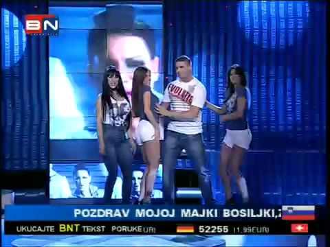 Tina Ivanovic i MC Stojan - Sexy - BN Koktel - TV BN 2010