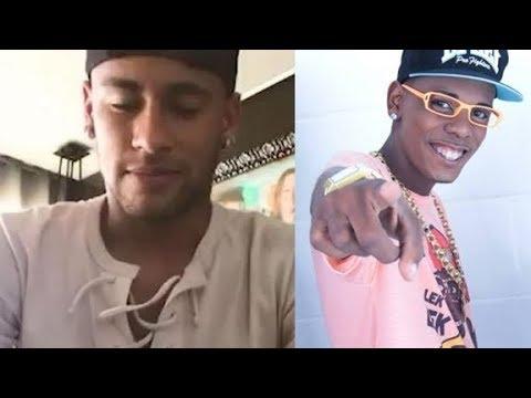 Falido Funkeiro Famoso faz apelo para Neymar ajudá-lo e o que diz comove
