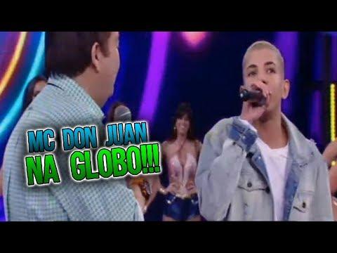 Mc Don Juan Cantando Ôh Novinha No Ding Dong No Domingão Do Faustão - Completo 21 01 2018