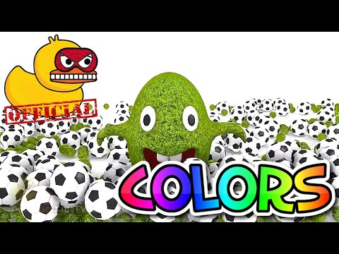 3D Color Ball Show for Kids Learn to Count Numbers 1 to 10 with Eggs Surprise 123