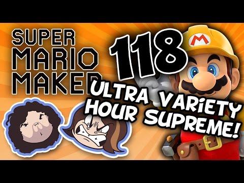 Super Mario Maker Pachinko Party - PART 118 - Game Grumps