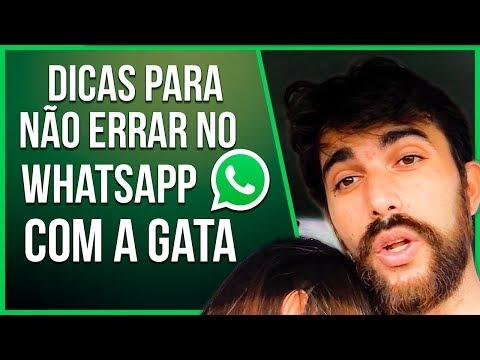DICAS INÉDITA PARA NÃO ERRAR NO WHATSAPP COM A GATA