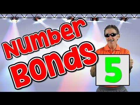 I Know My Number Bonds 5 Number Bonds to 5 Addition Song for Kids Jack Hartmann