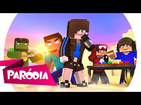 Minecraft PARÓDIA SUA CARA Major Lazer feat Anitta e Pablo Vittar - COM UMA ESPADADA