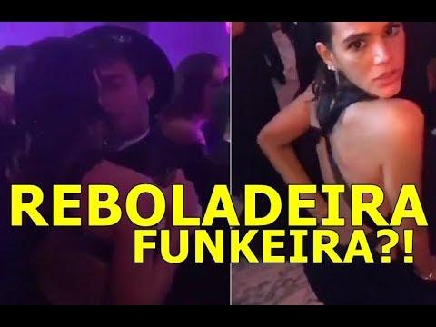 Rebolando Neymar dança agarradinho e Bruna Marquezine rebola com funk