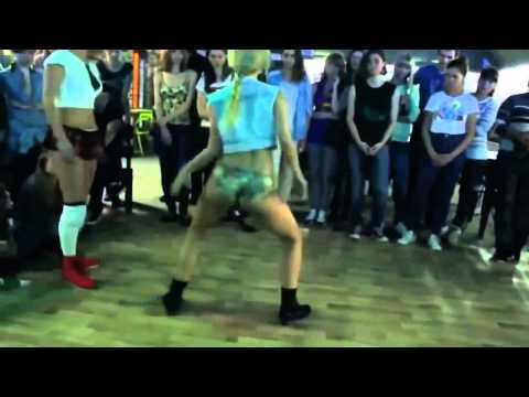 Booty Dance Twerk Girls Dance Battle 2014 Russia
