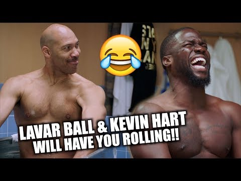 LAVAR BALL KEVIN HART Cold As Balls Ep 1 Preview