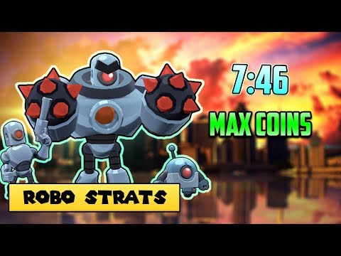 Robo Rumble Max Coin PachinKo Park - Strat to get 7 46 min
