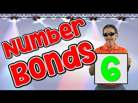 I Know My Number Bonds 6 Number Bonds to 6 Addition Song for Kids Jack Hartmann