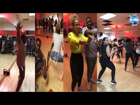 Blac Youngsta want these girls to workout to Booty Twerk in Aerobics Class