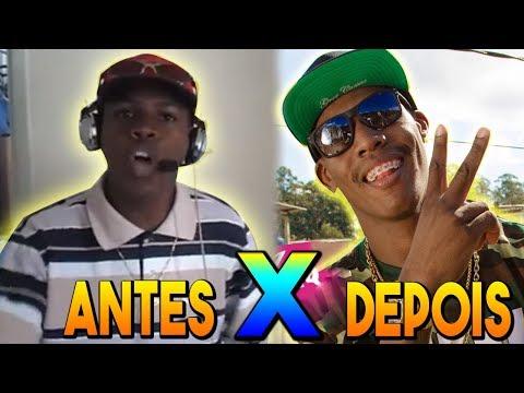 ANTES E DEPOIS DOS FUNKEIROS