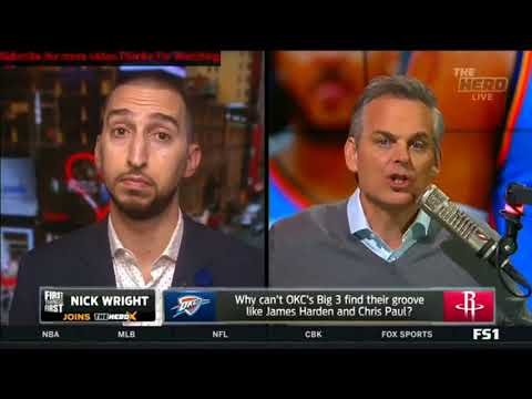 Nick Wright- Is Lonzo Ball shaping up to be a great leader for the Lakers