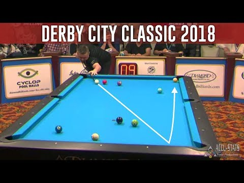 Chris Melling Show TOP 10 SHOTS Derby City Classic 2018 9-ball Pool