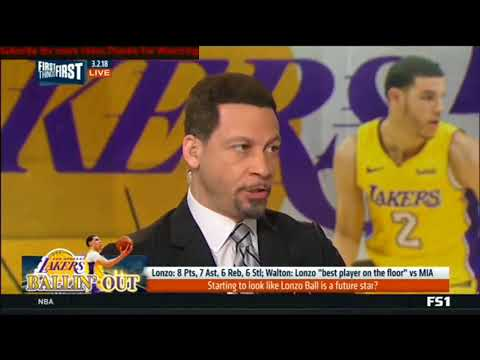 Chris Broussard reacts to Walton says Lonzo Ball 'best player on the floor'