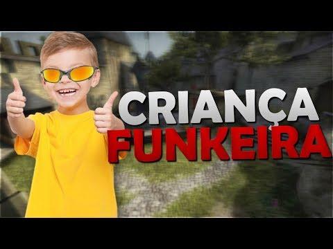 FINGINDO SER CRIANÇA FUNKEIRA NO CSGO