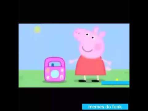 Peppa pig funkeira OLHA A EXPLOSÃO